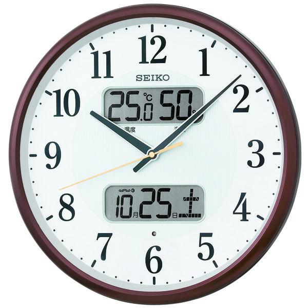 温度湿度カレンダー付き電波時計