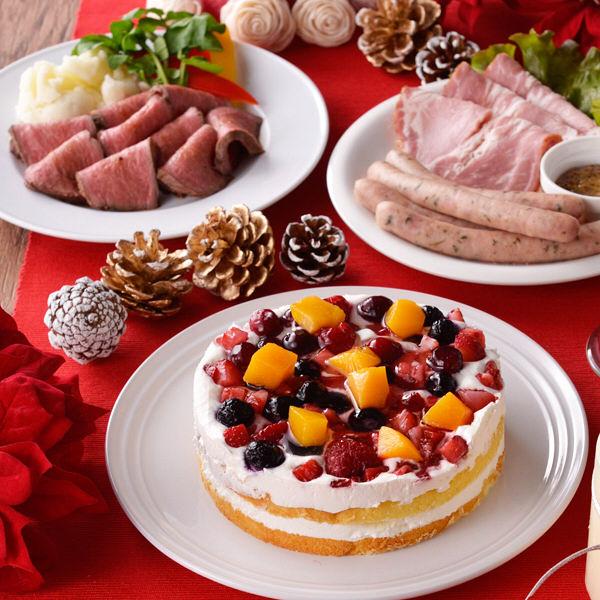 ローストビーフ&ケーキ パーティセット