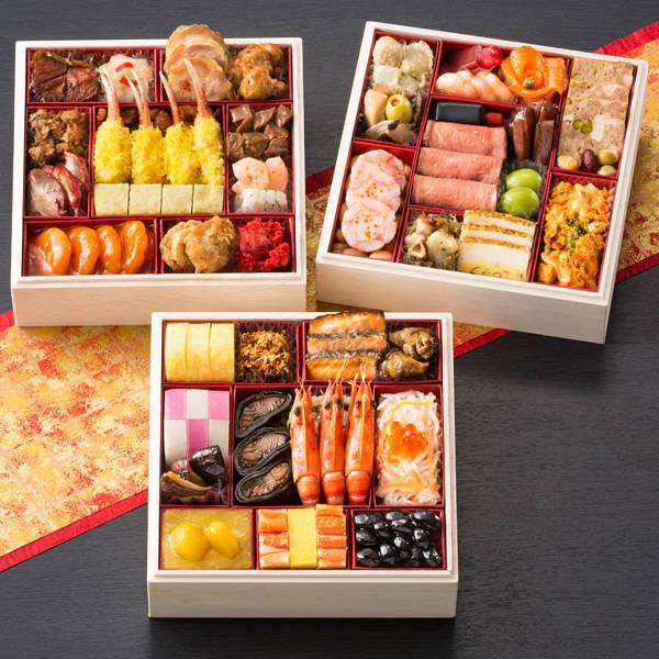 札幌グランドホテル 和洋中三段重祝の宴
