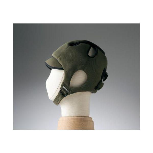 特殊衣料 保護帽[アボネットガードC]幼児サイズ オリーブ 2008 1個 8-6512-01(直送品)