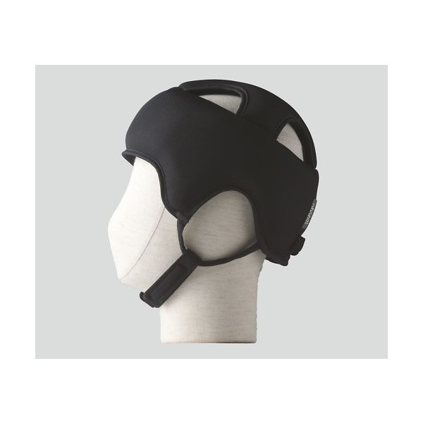 特殊衣料 保護帽[アボネットガードA メッシュ]L ブラック 2073 1個 8-6558-04(直送品)