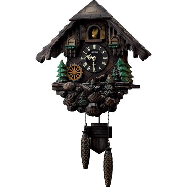 リズム時計 カッコーヴァルト 鳩時計