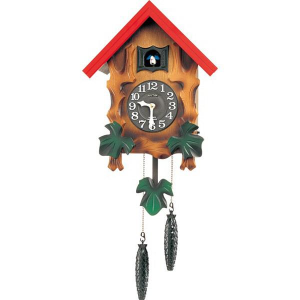 リズム時計(RHYTHM) カッコーメルビルR [クォーツ 掛け 時計] 4MJ775RH06 (直送品)