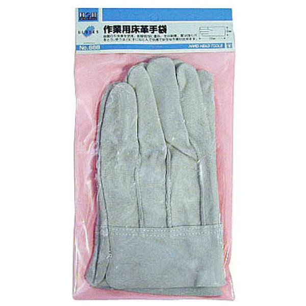 三共コーポレーション H&H 床皮手袋 #668 (直送品)
