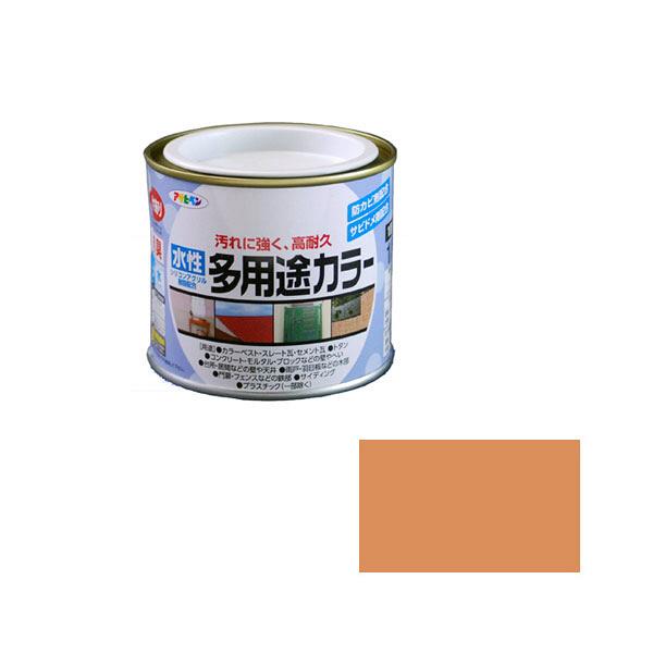 アサヒペン AP 水性多用途カラー1/5L ラフィネオレンジ as12 (直送品)