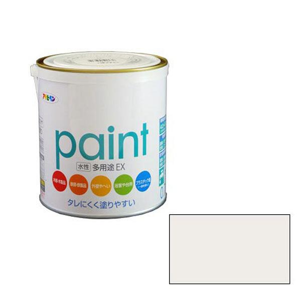 アサヒペン AP 水性多用途EX 0.7L パールホワイト as125 (直送品)