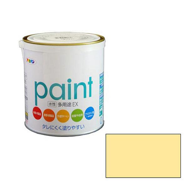 アサヒペン AP 水性多用途EX 0.7L クリーム色 as128 (直送品)