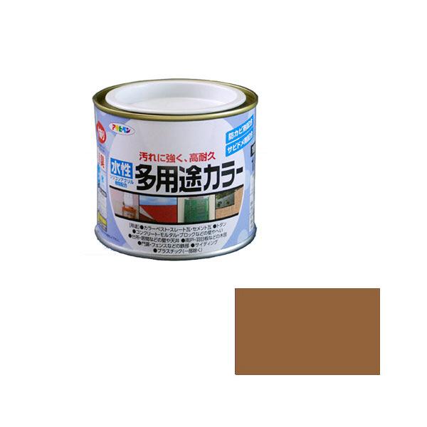 アサヒペン AP 水性多用途カラー 1/5L カーキー as14 (直送品)