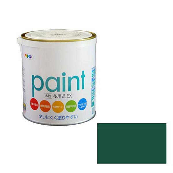 アサヒペン AP 水性多用途EX 0.7L 緑 as140 (直送品)