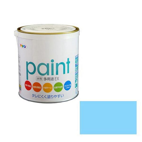 アサヒペン AP 水性多用途EX 0.7L 水色 as141 (直送品)