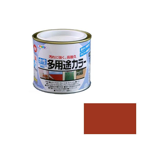 アサヒペン AP 水性多用途カラー 1/5L 赤さび as15 (直送品)