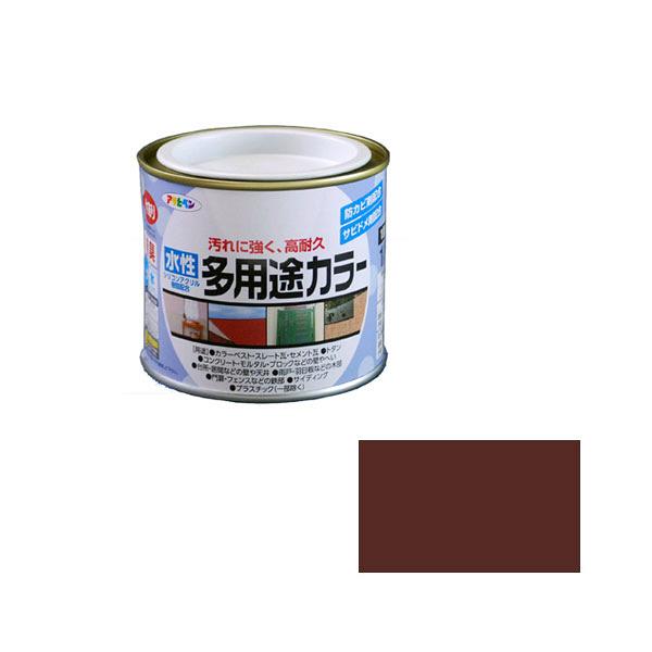 アサヒペン AP 水性多用途カラー 1/5L チョコレート as17 (直送品)