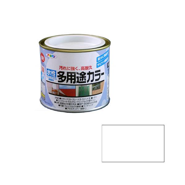 アサヒペン AP 水性多用途カラー 1/5L クリヤ as25 (直送品)