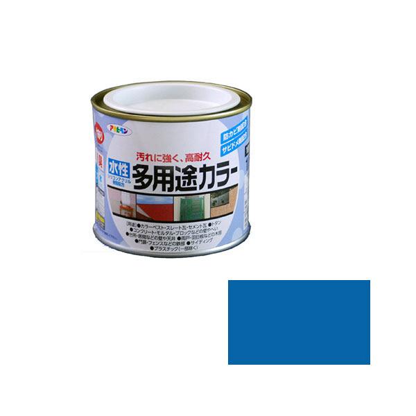 アサヒペン AP 水性多用途カラー 1/5L 空色 as39 (直送品)