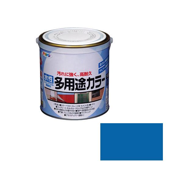 アサヒペン AP 水性多用途カラー 0.7L 空色 as45 (直送品)
