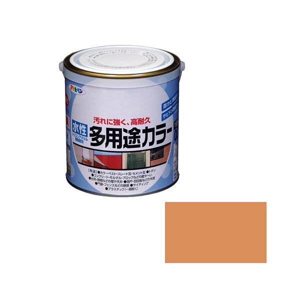 アサヒペン AP 水性多用途カラー 0.7L ラフィネオレンジ as60 (直送品)