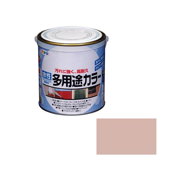 アサヒペン AP 水性多用途カラー 0.7L シャドーピンク as61 (直送品)