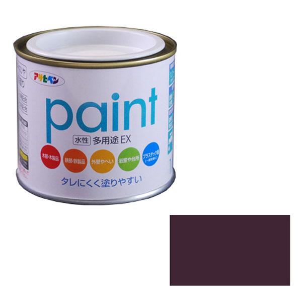 アサヒペン AP 水性多用途EX 1/5L ブラウン as93 (直送品)