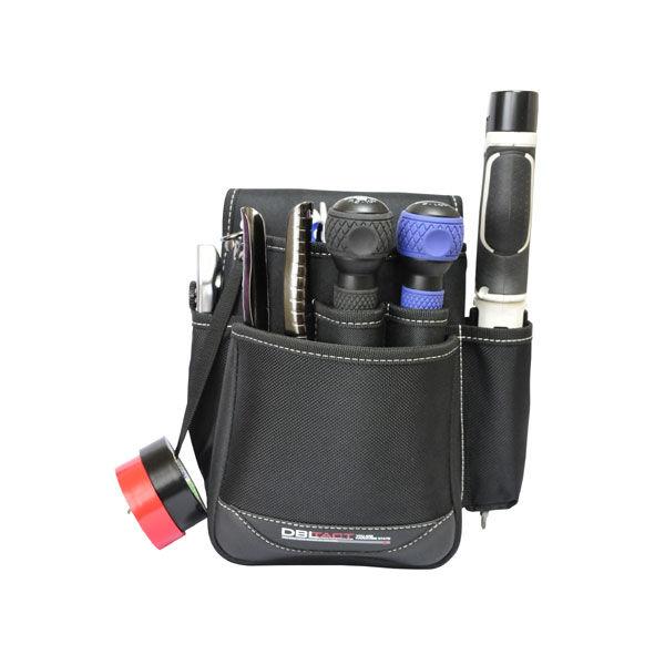 三共コーポレーション DBLTACT 腰袋 DT-28-BK (直送品)