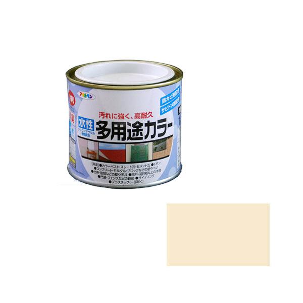 アサヒペン AP 水性多用途カラー 1/5L アイボリー as05 (直送品)