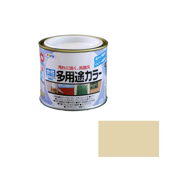 アサヒペン AP 水性多用途カラー 1/5L ティントベージュ as08 (直送品)
