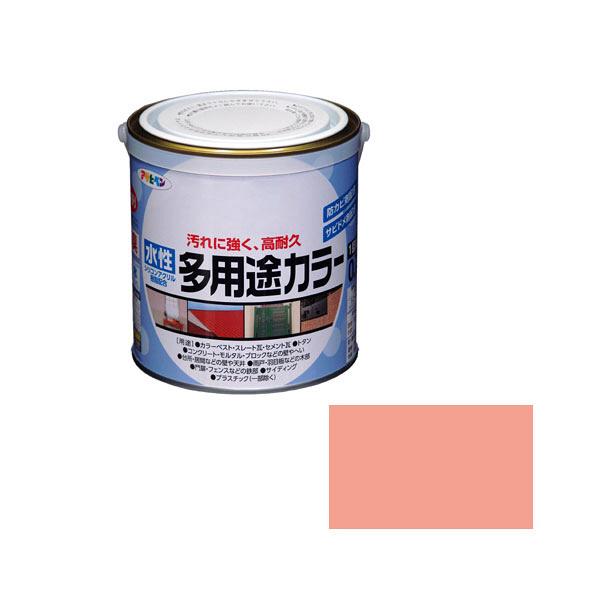 アサヒペン AP 水性多用途カラー 0.7L コスモスピンク as74 (直送品)