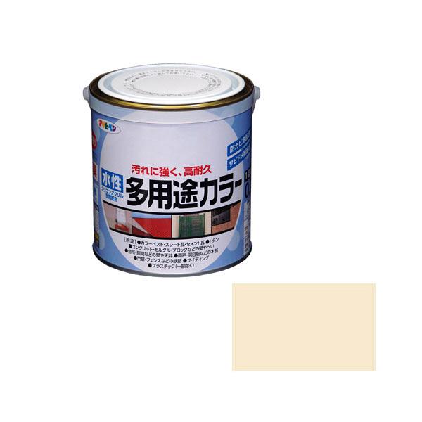 アサヒペン AP 水性多用途カラー 0.7L アイボリー as54 (直送品)