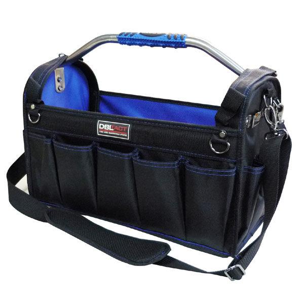 三共コーポレーション DBLTACT オープンキャリーバッグ ブルー DT-HTB-450 (直送品)