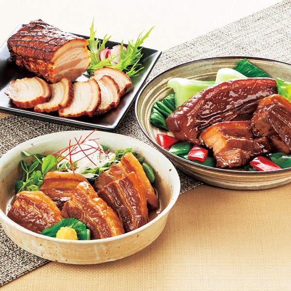 伊賀上野の里つるし焼豚&角煮詰合せ