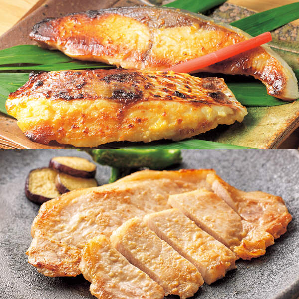 真鯛・ハマチ・讃岐こめ豚の味噌漬