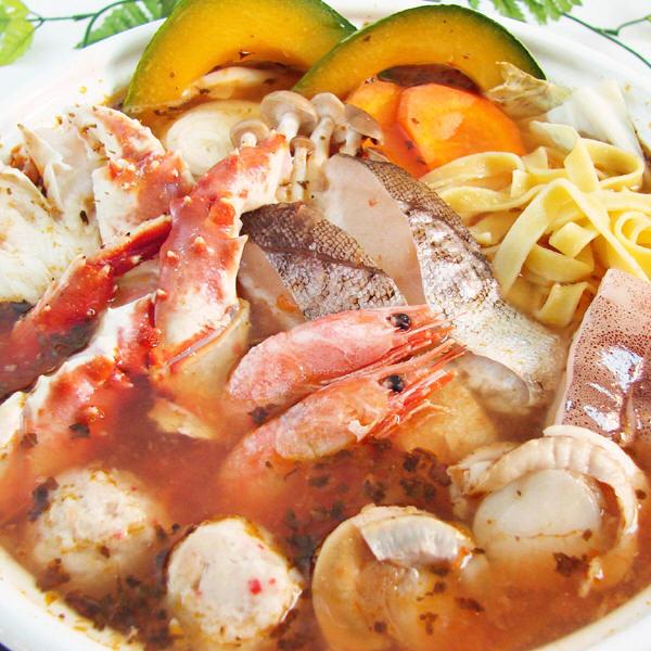 北の海鮮トマト鍋