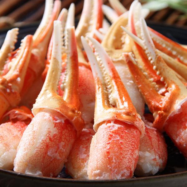 ずわい蟹爪むき身約350g