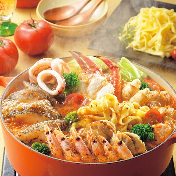海鮮トマト鍋