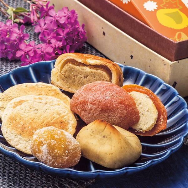 栗福柿と栗和菓子セット