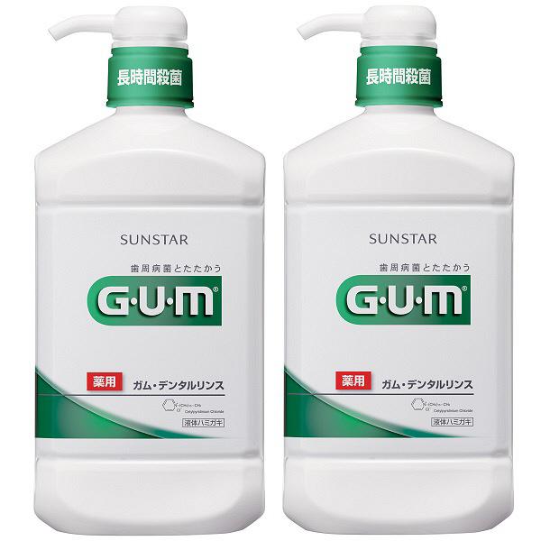 GUM 洗口液 レギュラー 960mL