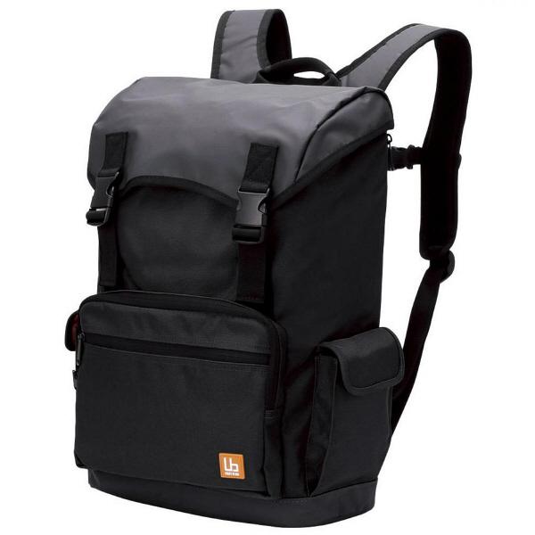 ca600efc147d エレコム(ELECOM) バックパック フラップタイプ ブラック ビジネスバッグ 13.3インチPCまで対応