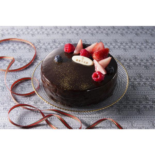 銀座千疋屋 ベリーのチョコレートケーキ