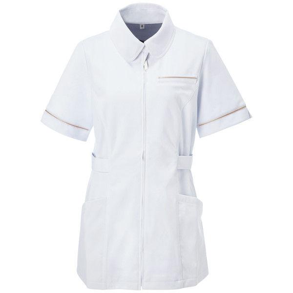 大真 透けない白衣 レディスジャケット NJ200 シャンパンゴールド M 医療白衣 1枚 (直送品)