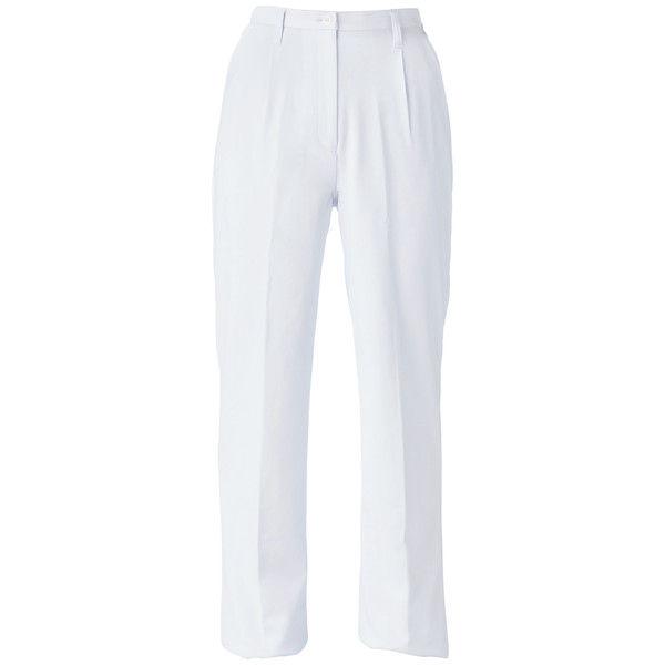 大真 透けない白衣 レディスパンツ NP200 ホワイト S 医療白衣 1枚 (直送品)