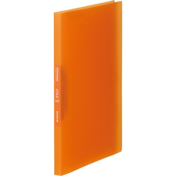 キングジム シンプリーズZファイル(透明) オレンジ 578TSPオレ (直送品)