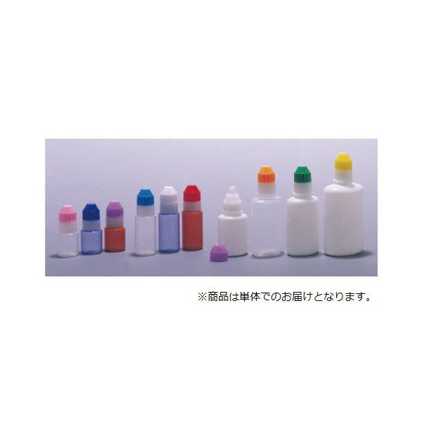エムアイケミカル 点眼容器フレッシュ5号(未滅菌) 原色白/フジ 87250109 1セット(200本) 08-3025-11-09(直送品)