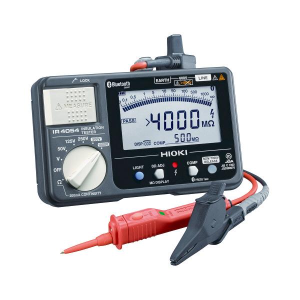 HIOKI 絶縁抵抗計/5レンジ・Bluetooth付 IR4054-11 日置電機 (直送品)