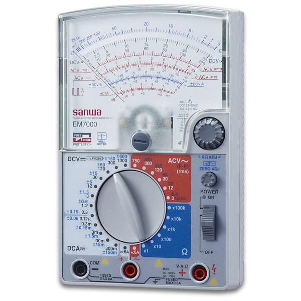 アナログマルチテスタ EM7000 三和電気計器 (直送品)