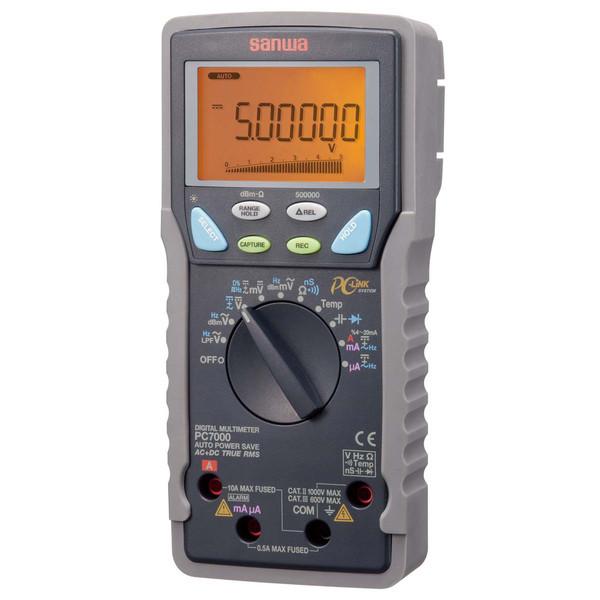 デジタルマルチメータ PC接続型 PC7000 三和電気計器 (直送品)