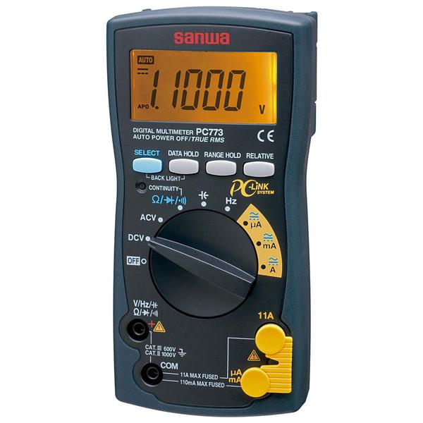 デジタルマルチメータ PC接続型 PC773 三和電気計器 (直送品)