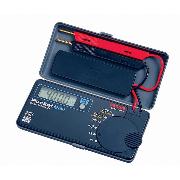 ポケットデジタルマルチメータ PM7a 三和電気計器 (直送品)