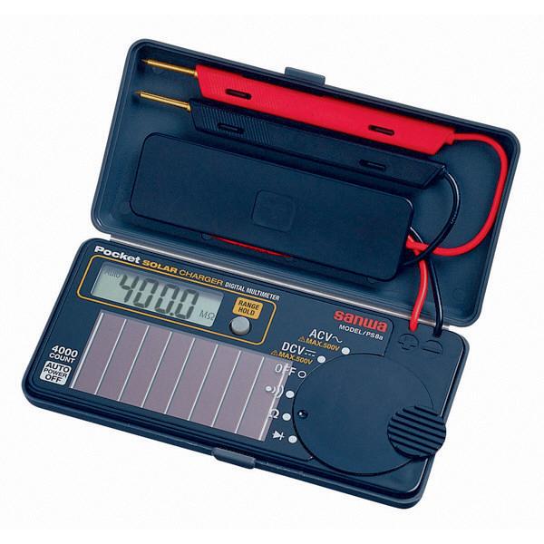 ポケットデジタルマルチメータ PS8a 三和電気計器 (直送品)