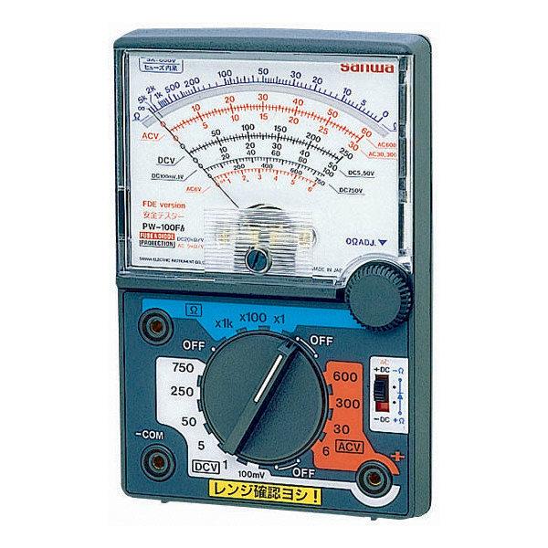 アナログマルチテスタ PW-100Fb 三和電気計器 (直送品)