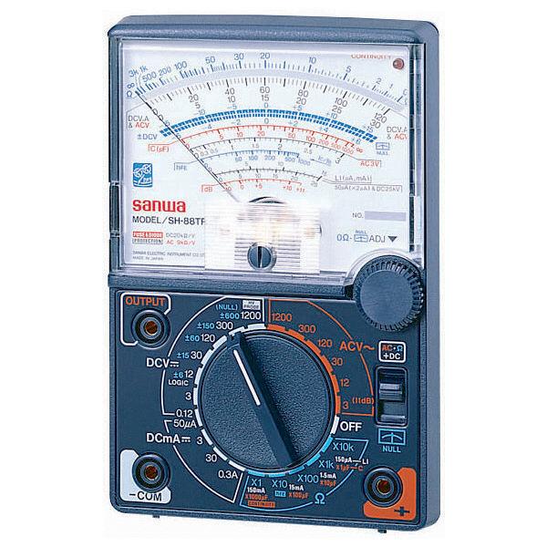 多機能アナログマルチテスタ SH-88TR 三和電気計器 (直送品)