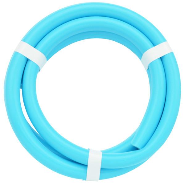 ガオナ 二槽式洗濯機用 給水ホース 2.0m (長さ調節可能 パステルブルー) GA-LC016 (直送品)